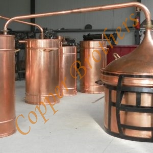 Premium Copper Water Sealing Alembic Stills