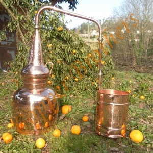 Premium Copper Whiskey Alembic Stills