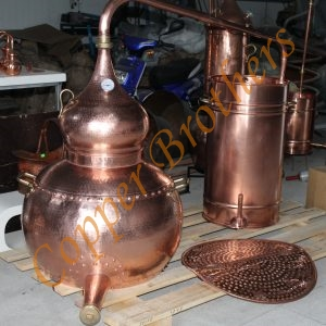 Premium Copper Riveted Union Alembic stills