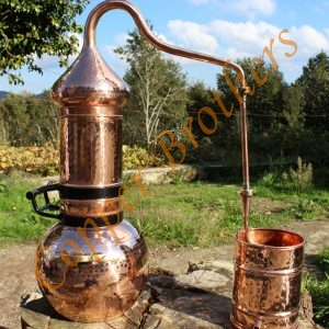 Premium Copper Flip Top Column Alembic Stills