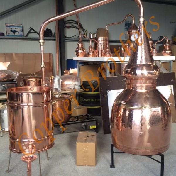 60 L Copper Whiskey Alembic Still