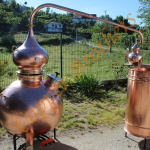 Professional Copper Brothers Alembic Still Systems