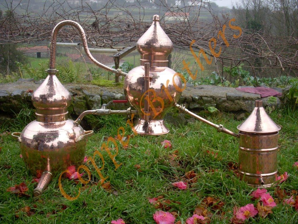 Premium Copper Charentais Alembic Still 10l Copper Brothers